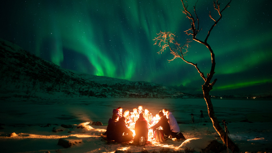 Brave the Longest Northern Lights Tour in Swedish Lapland