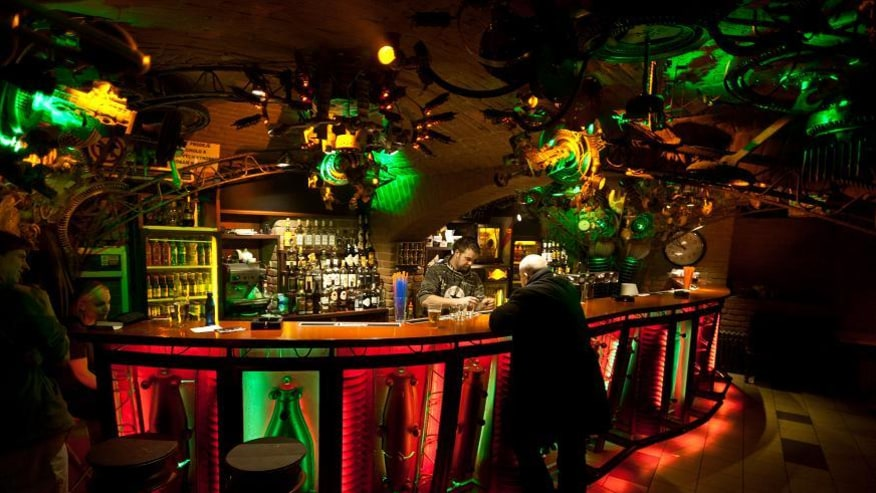 The bohemian bars of Prague