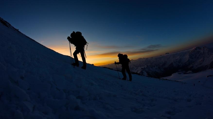 Trek up the mountain