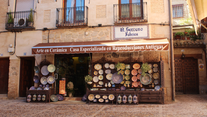 A shop on the streets