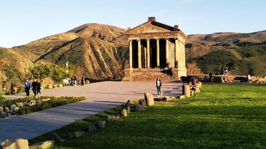 Exploring Garni Temple