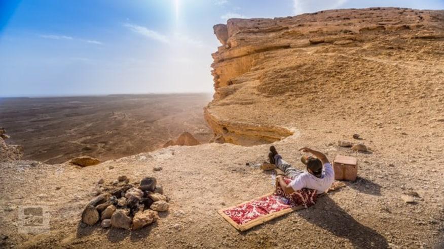 Edge of the World Tour from Riyadh