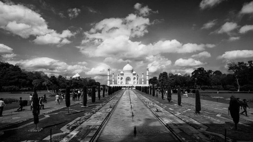 Visit the legendary Taj