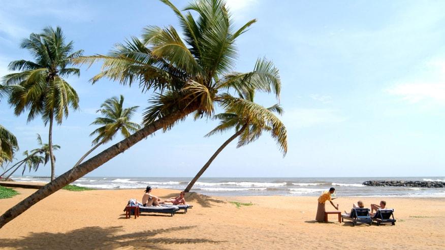 Unwind at Negombo Beach
