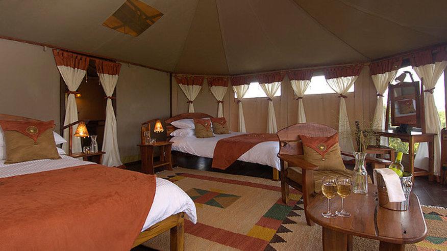 stunning campsite