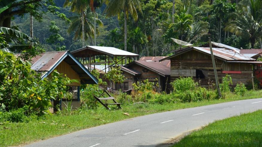 Local Khasi villages