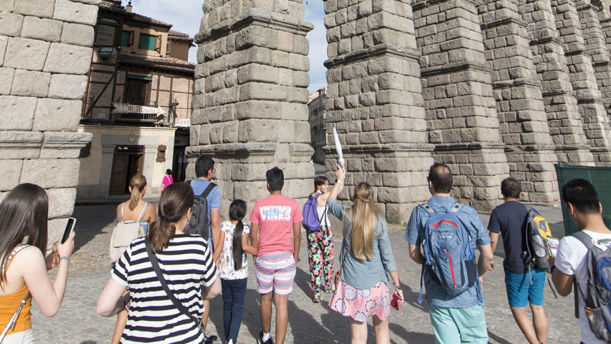 Walking tour in Spain