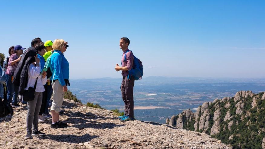 Guided Tours atop Montserrat