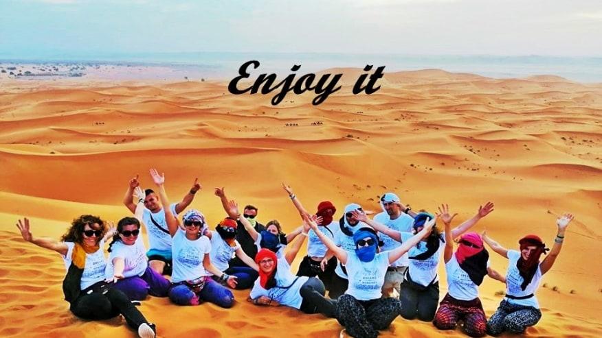 Jump onto this Desert Exploration