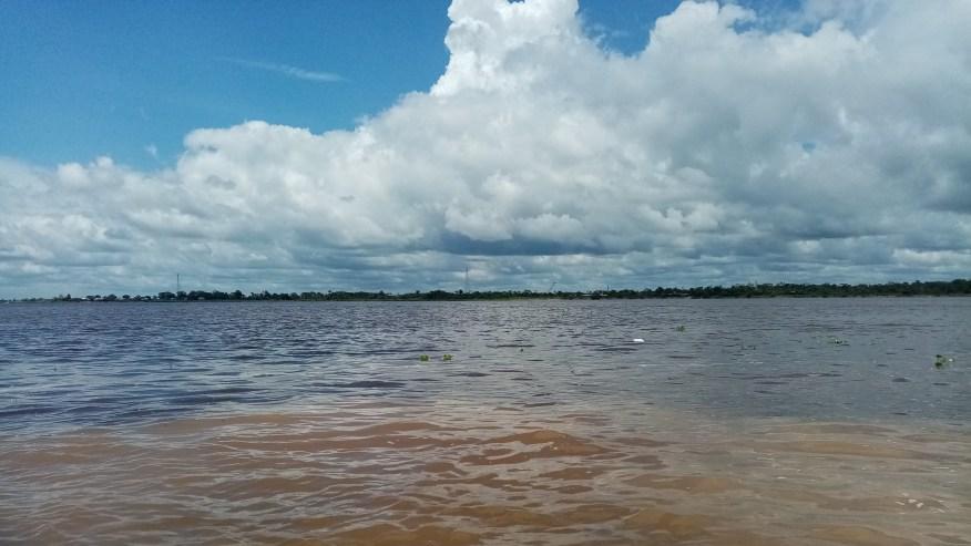 Nanay river and Amazon river