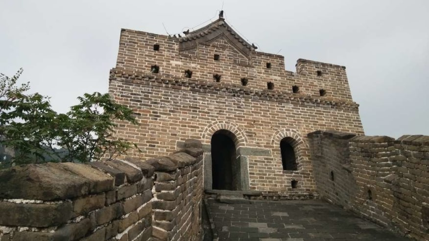 The start of the Mutianyu section