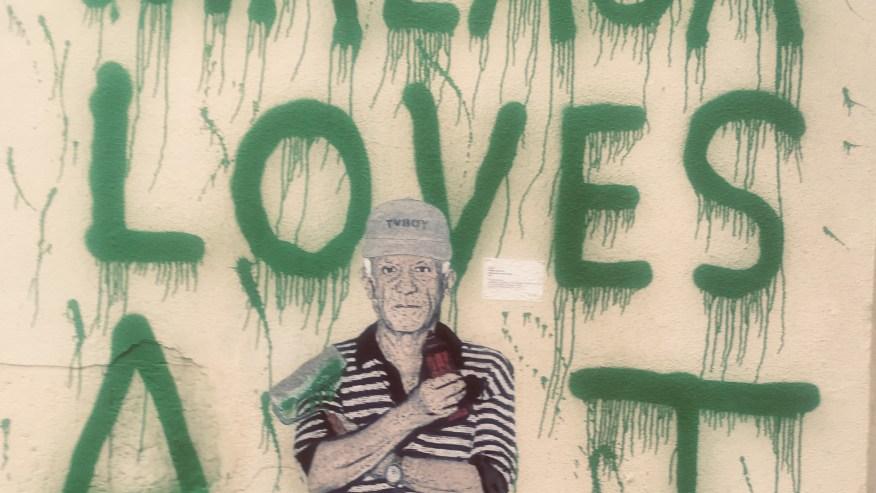 Picasso by TvBoy at Soho Malaga