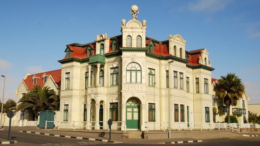 Architecture in the town