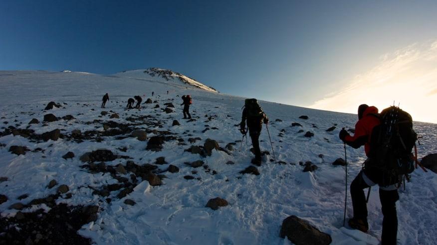 Finish trek with spectacular sunrises