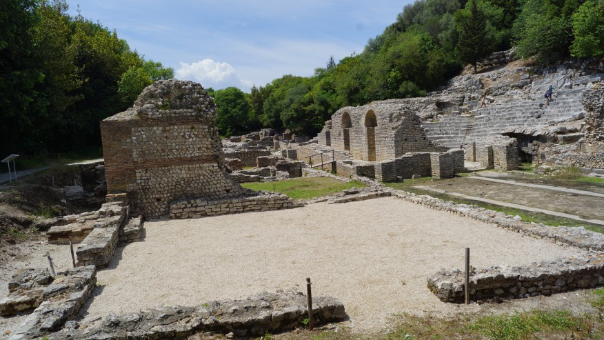 Examine the ruins