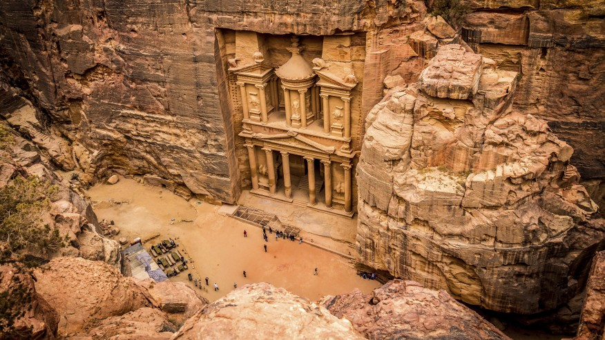 Fly to and Explore the Archaeological Marvel