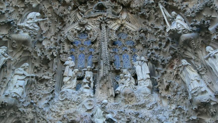 Engravings of Sagrada Familia