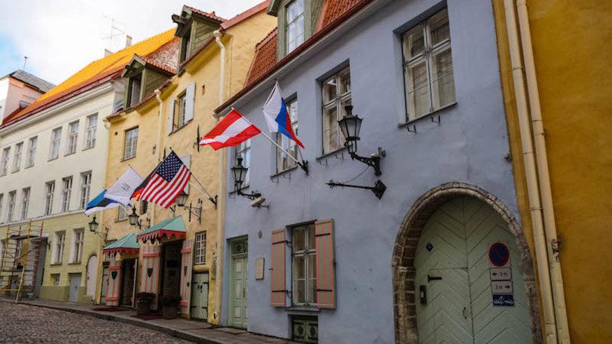 Walk through the quaint cobbled streets of Tallinn