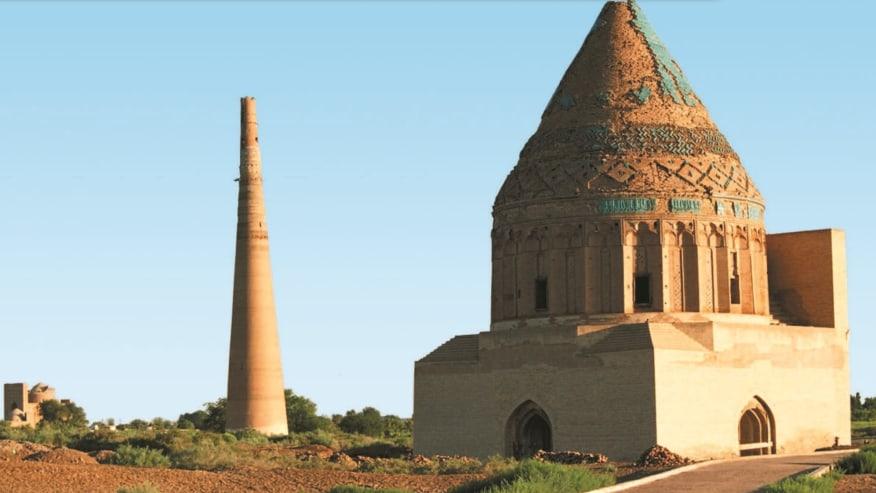 Heritage Site in Kunya Urgench