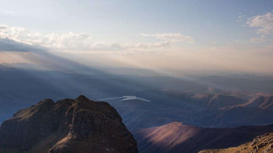 Drakernsberg peak
