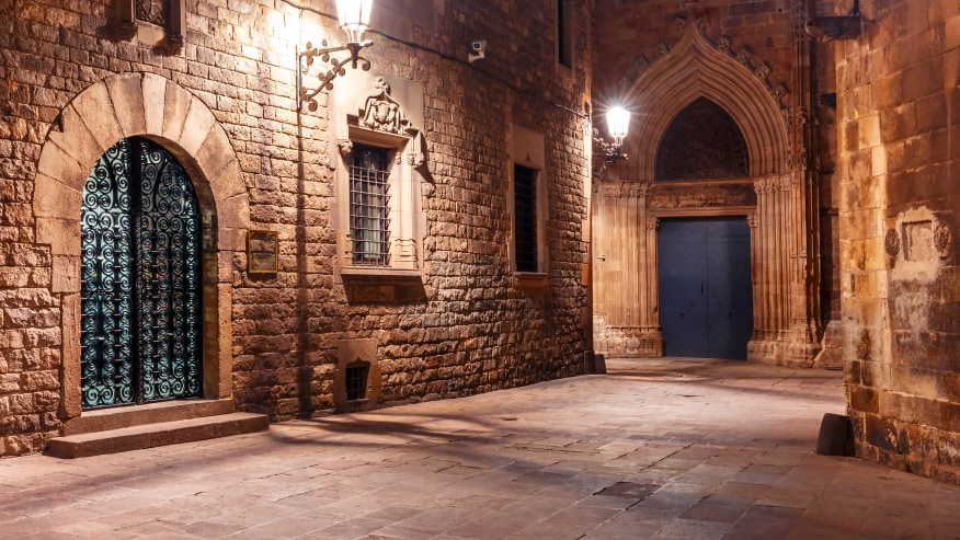 Gothic Streets of Barcelona