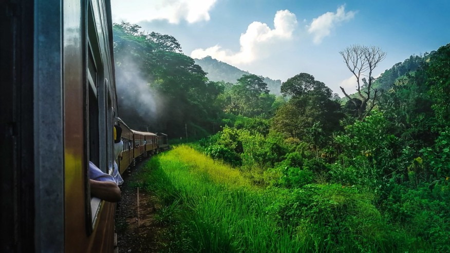 Train Journey in Srilanka