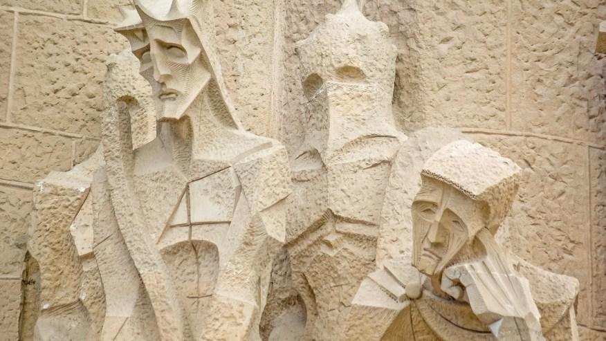 Stone Statues of Sagrada Familia