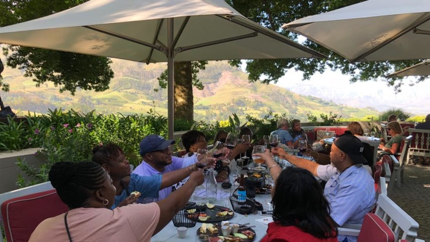 Toast to Cape Winelands