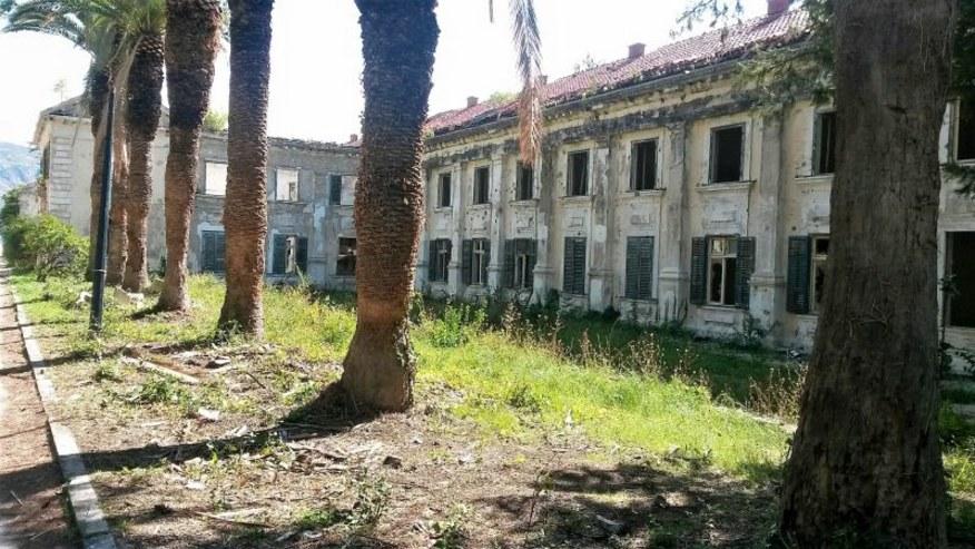 Devastated facilities