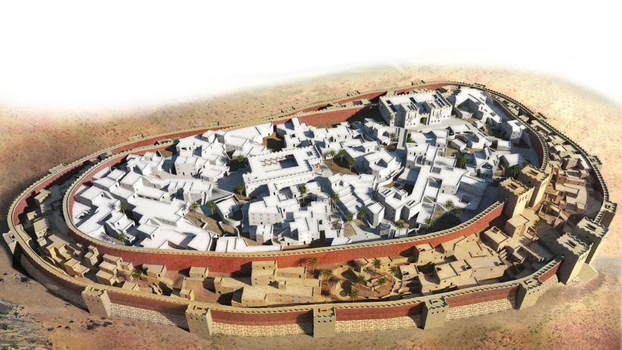 The old city of Jericho