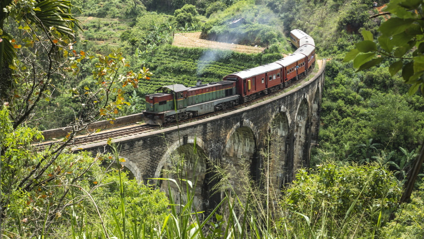Explore with Sri Lankan landscapes, temples & forts