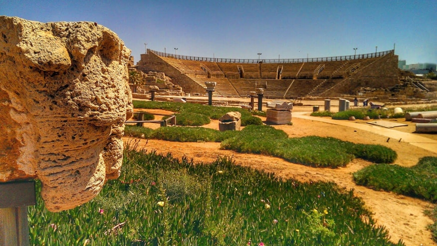 The theatre of Ancient Caesarea