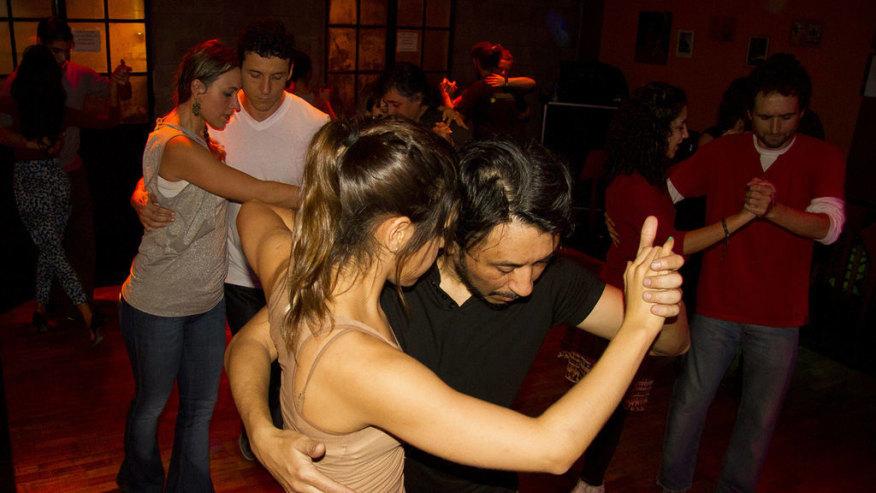 Fun with this Tango Tour at a Milonga!
