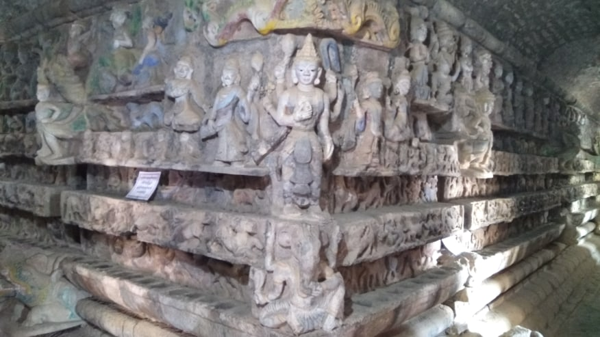 Stone Carving in Chitthaung Temple
