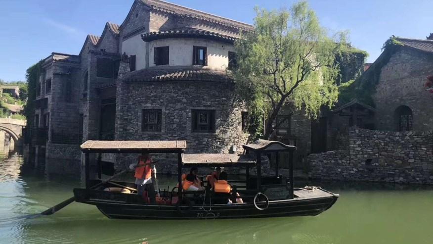 Raft along the secret waterways of Gubei