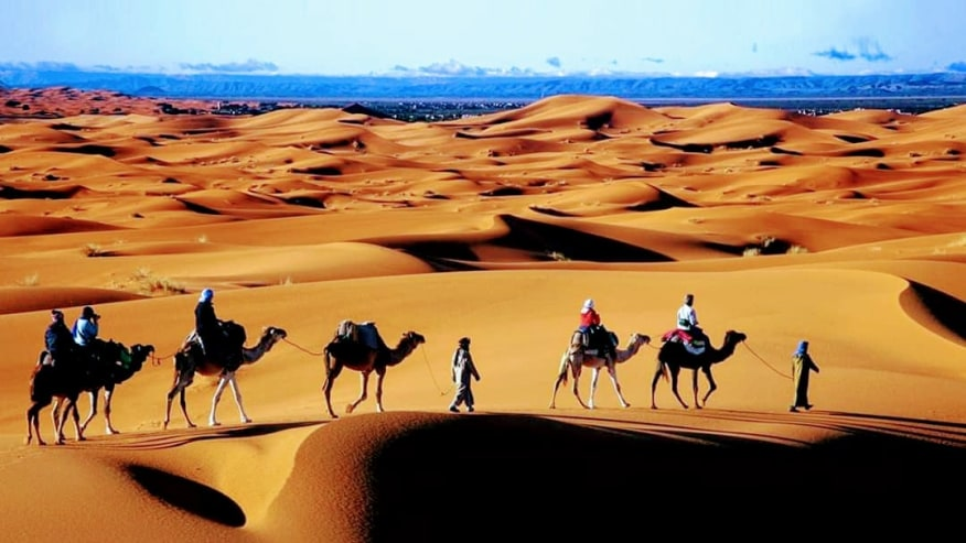 Travel across the Sahara through Kasbahs & Valleys