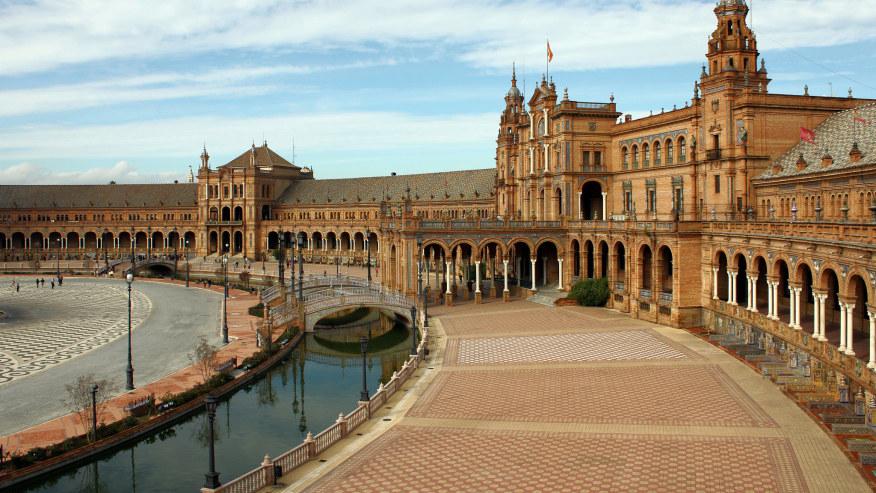 Plaza Espania Sevilla