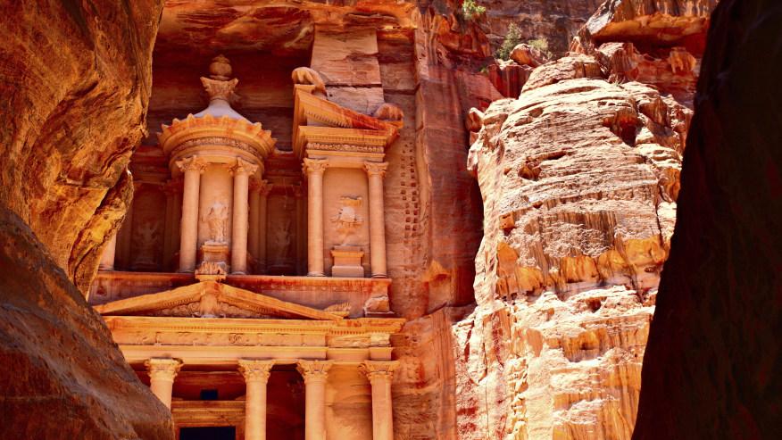 Admire Impressive Roman Architecture in Sandstone