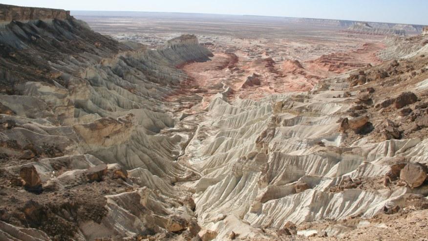 Yangi Kala canyons