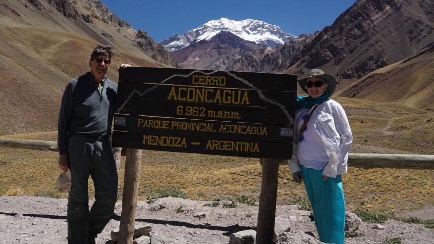 Climb up Argentina