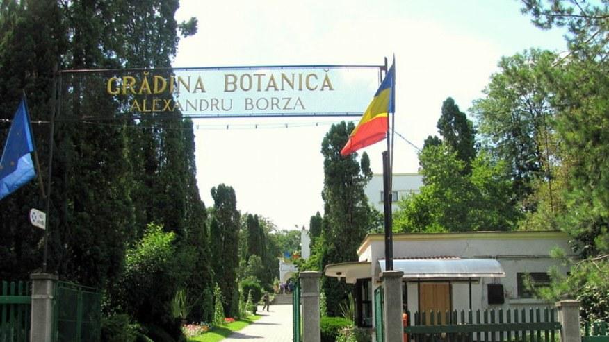 Entrance to the Botanical Garden