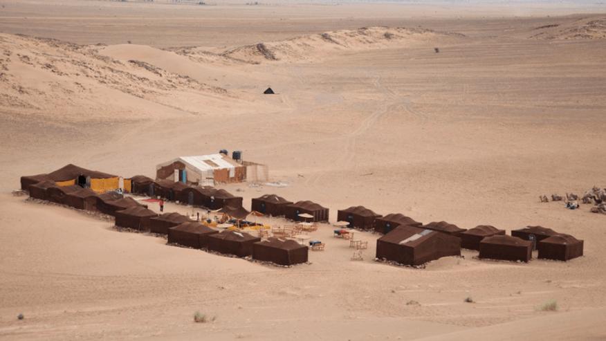 Nomadic camp