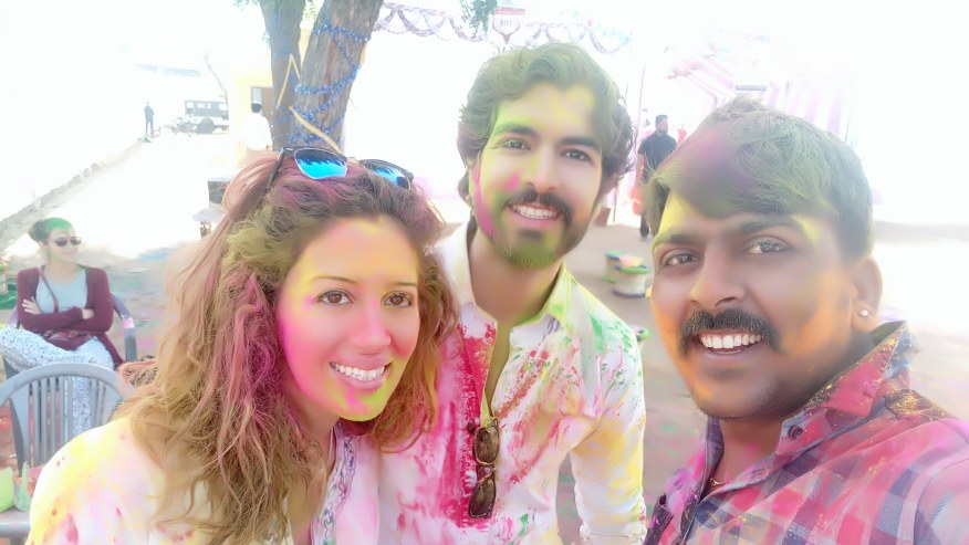 Enjoy Holi Celebration