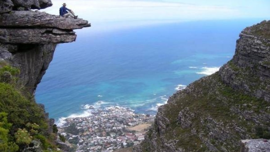 Look out rock - Table Mountain