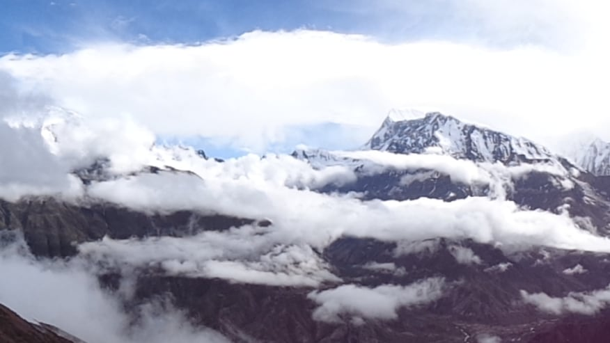 Experience the pristine beauty of Annapurna