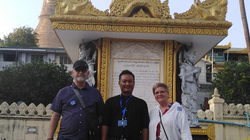 Catch sight of unique Burma temples & pagodas