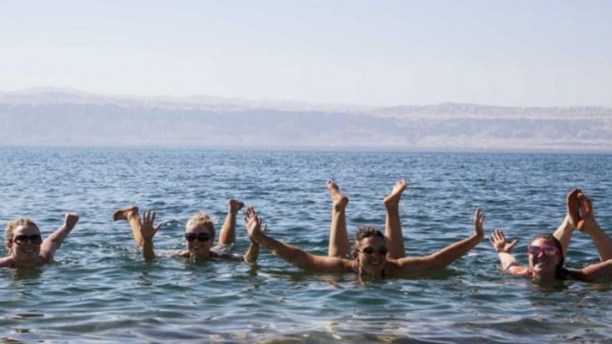 Float in the saltiest sea