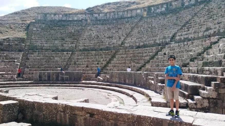 Roman Theatre of Djémila