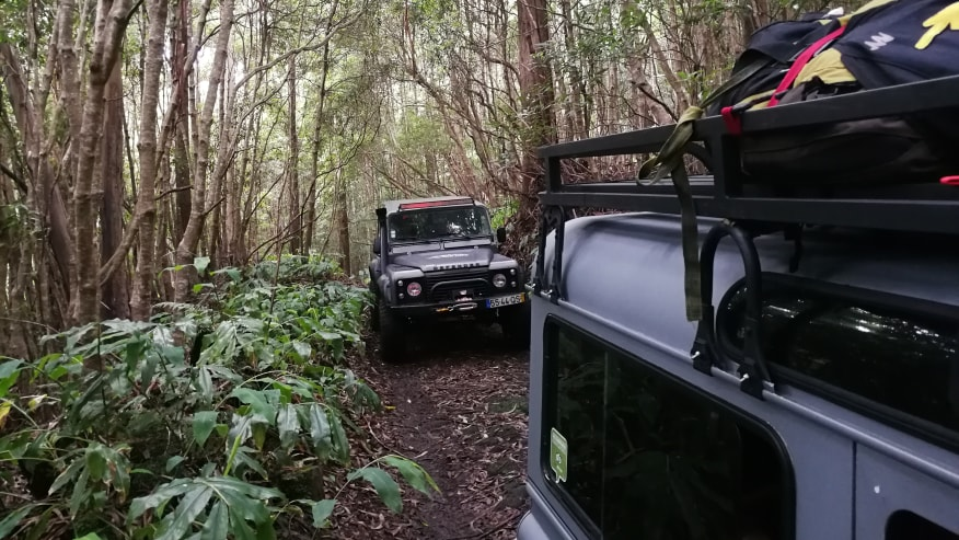 Journey in jeeps