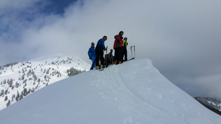 Skiing Albania